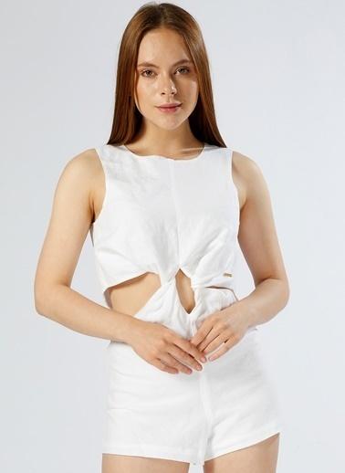 Calvin Klein Pareo Beyaz